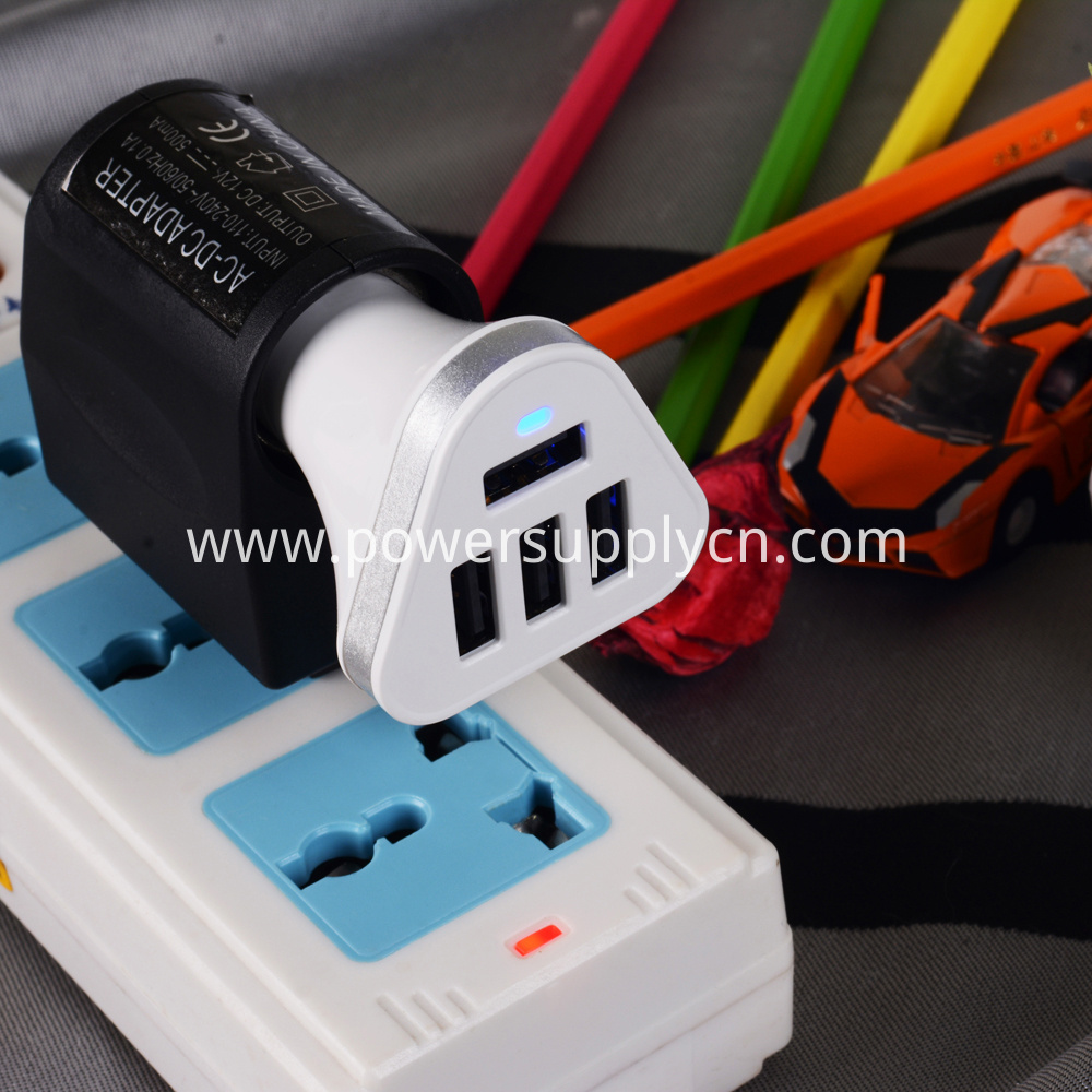 4 usb vehicle charger PCBA