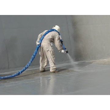 Professional spray polyurea coating