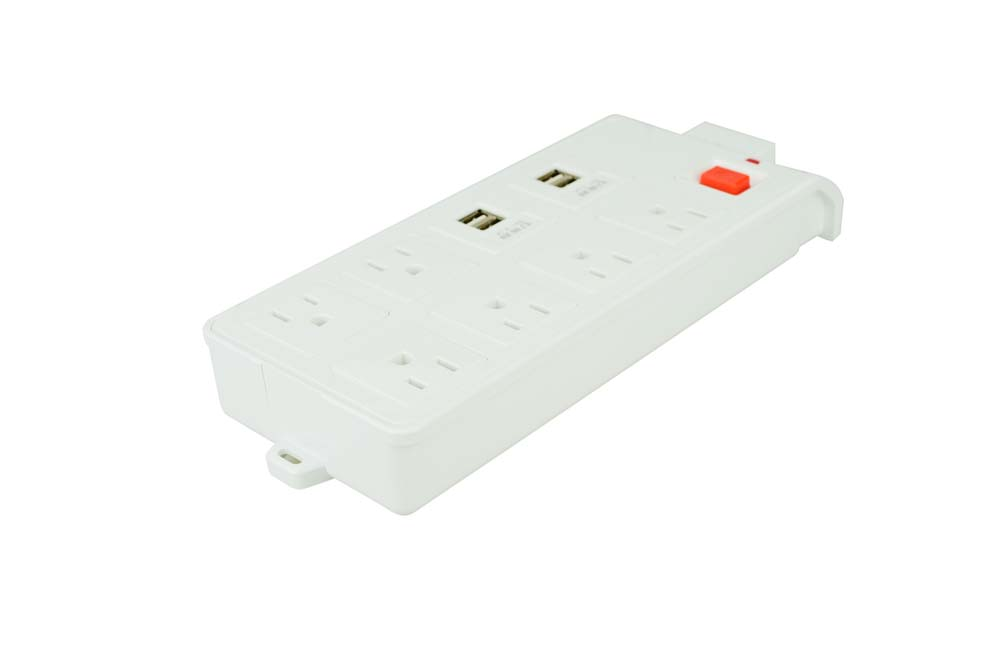 4 usb power strip