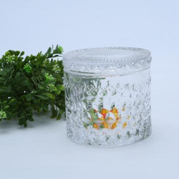 Flat Lid Luxury Candle Glass Jar Hot Sale