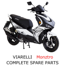 Viarelli Monztro Scooter Part Complete Parts