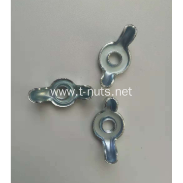 Steel Zinc Plating Without Thread Locking Wing Nuts