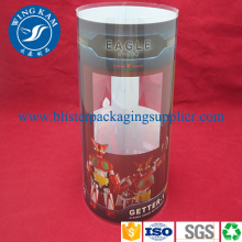 Container Cylinder with CMYK Printing