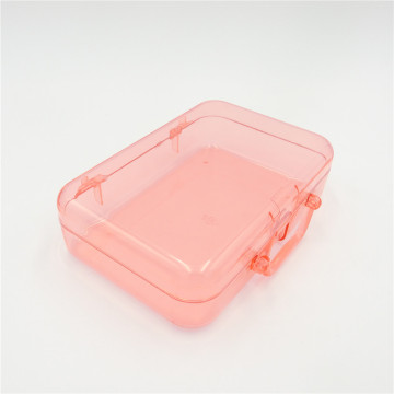 ABS transparent plastic box storage