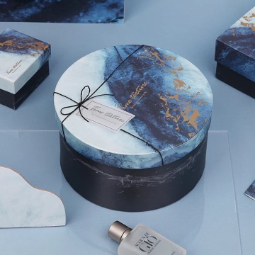 Round Set-up Box With Marble Grain