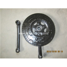 Bicycle Chain Wheel and Crank