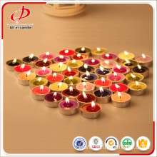 Christmas Decorative Colorful Scented Tealight Candle