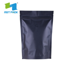 Biodegradable Coffee packaging Stand Up Plastic Zipper Bag