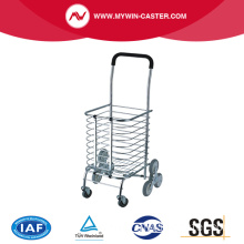 Portable 8 Wheel Big Size Upstair Climbing Shopping Cart