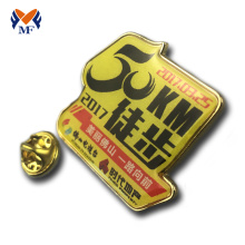 Newest sports 50km walk metal pin badge