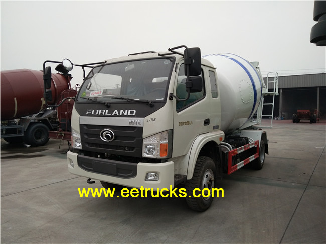 3000 Liters Cement Mixers