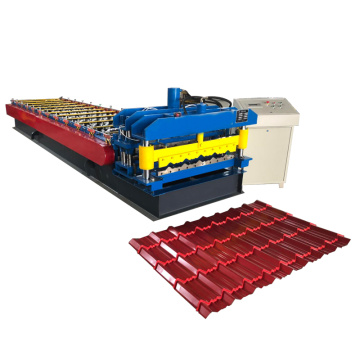 Building Glazed Roofing Sheet Roll Forming Machine