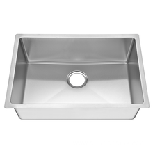 R15 single bowl undermount stainless steel kitchen sink