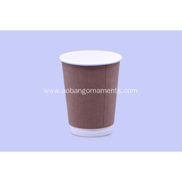 Customized for Disposable Coffee Paper Cup Hot drink paper cup supply to Antarctica Factory