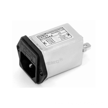 IEC Inlet Filters with Single Fuse