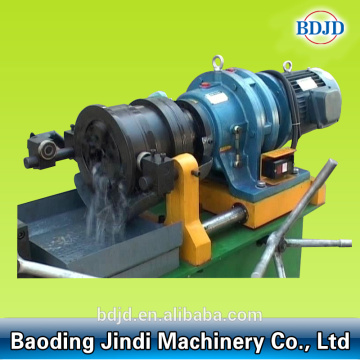 Thread rolling machine steel rod threading making machine