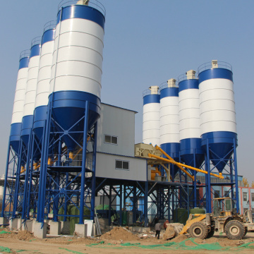 HZS90 factory direct concrete batching plant