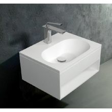 High quality pure acrylic wall-hung washbasin for washroom