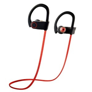 Colorful wireless headphones for sport