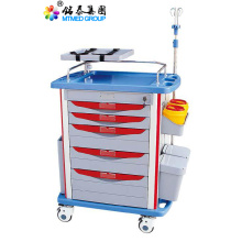 Hospital emergency medical cart