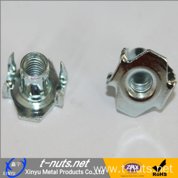 4 Prong T-Nut M6X9