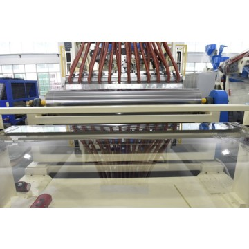 Four Rolls Changing Stretch Film Machine