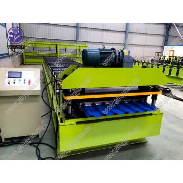 steel roof panel roll froming machine