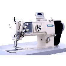 Direct drive single needle compound feed sewing machine