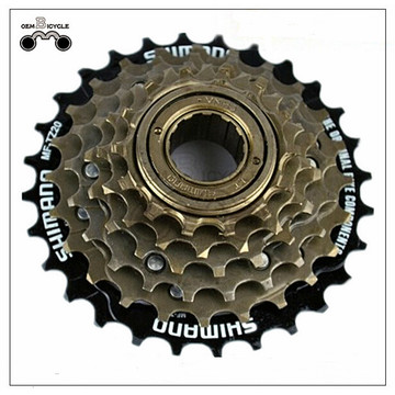 Bicycle 6 speed freewheel