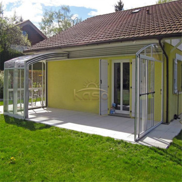 Sunroom Prefabricated Home Roof Retractable Sun Room