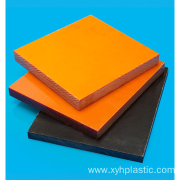 Orange Phenollic Bakelite Plate