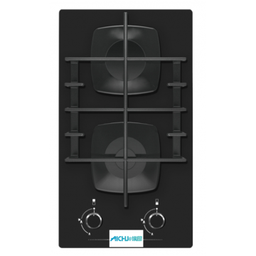 Panel Cooking Black Color Hob Glass Top