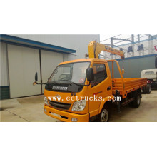 China for Dongfeng 4×2 Truck Cranes JAC 5 TON Straight Arm Crane Trucks export to Estonia Suppliers