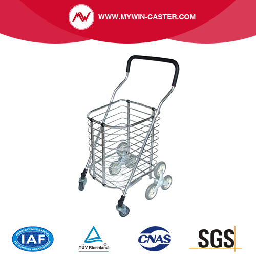 Folding Aluminium Alloy Market Shopping Cart