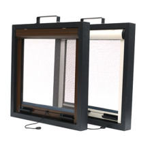 easy to cut size assemble aluminum roller window
