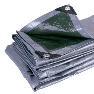 Grey Color  Waterproof PE Tarpaulin Sheet