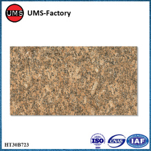 Thin lightweight granite tile for outdoors