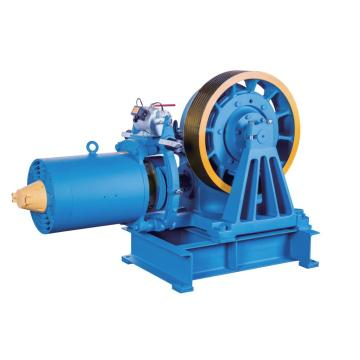 VVVF Drive Geared Elevator Traction Machine (YJ245-B)