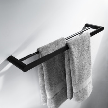 HIDEEP Bathroom Accessories Full Copper Black Towel Bar