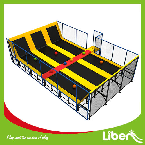 China Professional Dodgeball Indoor Trampoline Park