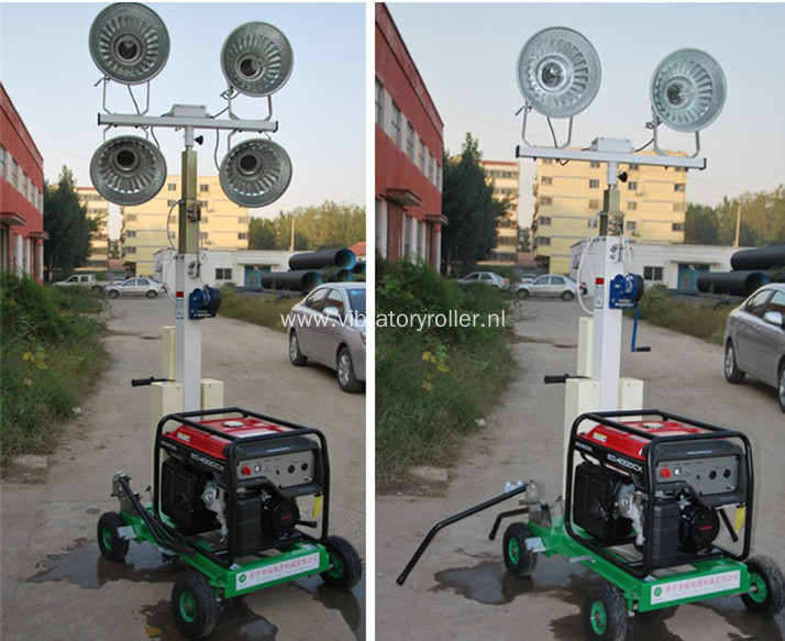 Mini Industrial Mobile Light Tower For Emergency