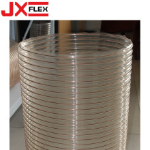 Wire Spiral PU Flexible Ducting Hose