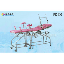 Customized for China Gynecological Examining Table,Gynecology Chair,Gynecological Examination Chair,Medical Exam Tables Supplier Stainless steel examination table (with auxiliary board) supply to Mauritania Importers