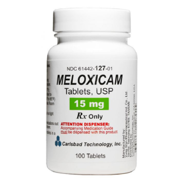 will meloxicam show on drug test