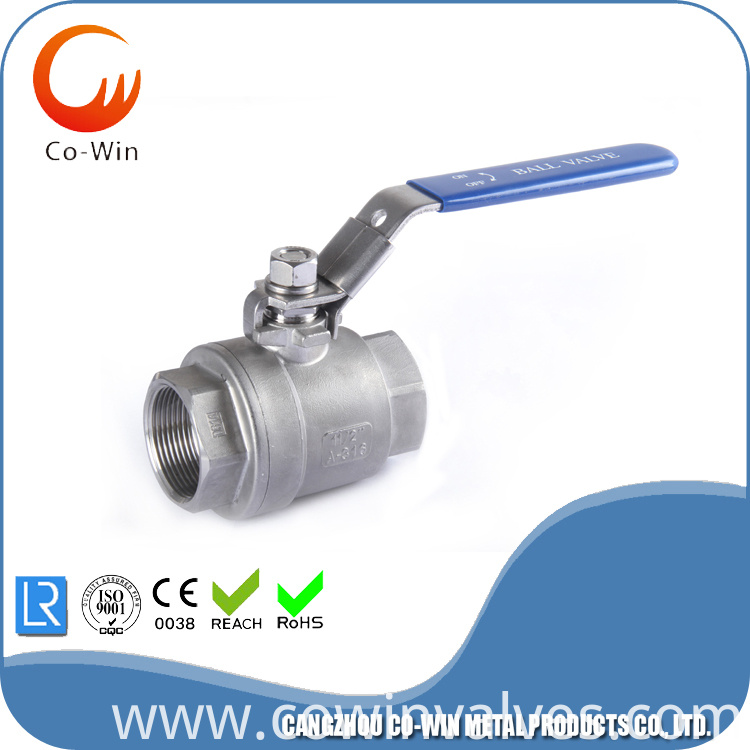 2pc Ball Valve with thread