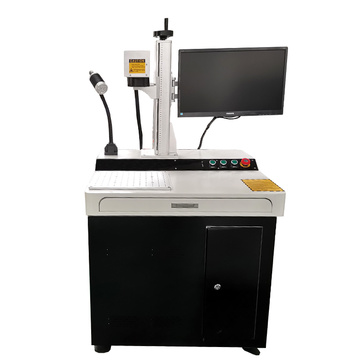 50w Desktop CNC laser Metal Engraving Machine for Number