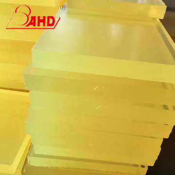 PU Polyurethane Rubber Sheet Board Elastic Glue