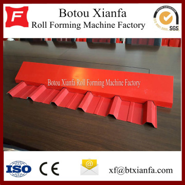 Aluminum Steel Roof Ridge Cap Forming Machine