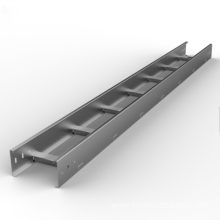 Aluminum alloy cable tray bridge support system