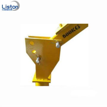 Portable small boat lifting cranes for truck sales
